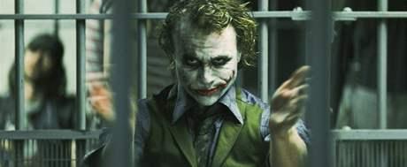 Heath Ledger jako padouch Joker
