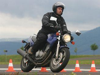 Škola jízdy na motorce