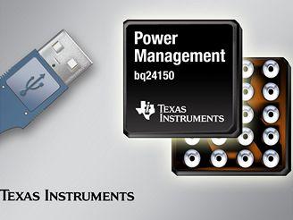 Čip napájení pro USB od Texas Instrument