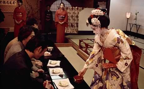 Japonsko - gejša