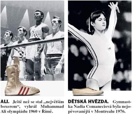Olympijská obuv