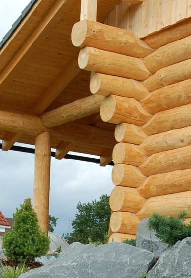 Na stavbě byly použity pouze přírodní materiály