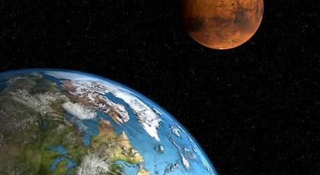 Rekordní přiblížení Marsu k Zemi nastane až v roce 2287.
