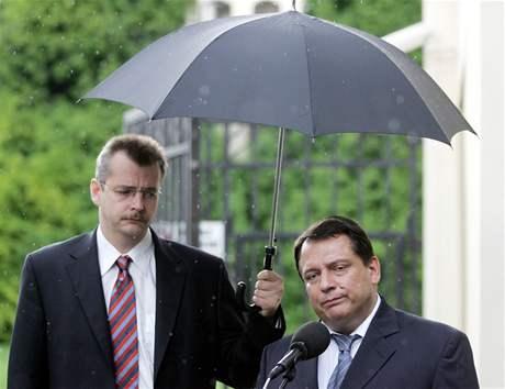 Jaroslav Tvrdík a Jiří Paroubek