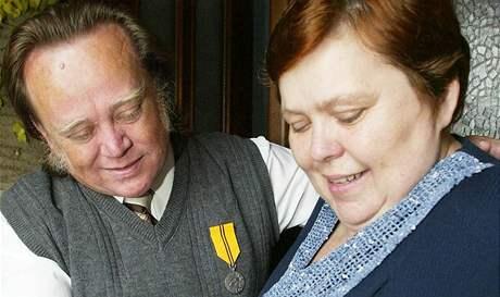Lubomír a Blažena Rosnerovi se státním vyznamenáním