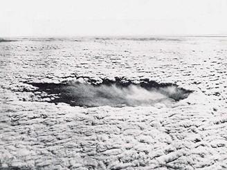 Efekt zasévání mraků, Labrador, 45 minut po akci