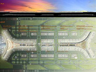 Termiál 3 Pekingského letiště - architektonický návrh