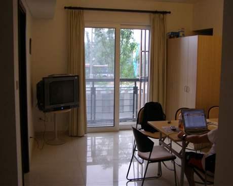 Balkónek je vítanou součástí apartmánu