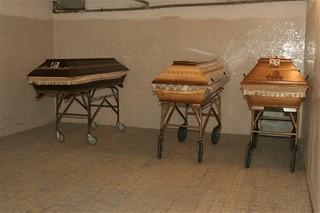 CB - Krematorium - chladicí místnost