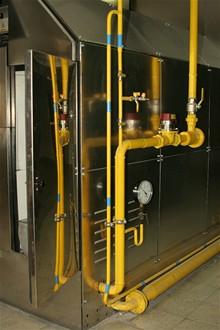 CB - Krematorium - přívod plynu do pece