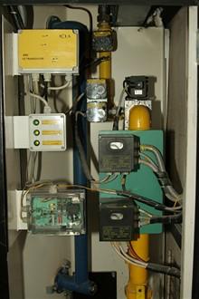 CB - Krematorium - řídící elektronika plynových ventilů
