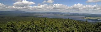 Panorama z Vítkova kamene