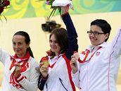 Kateřina Emmons se zlatou medailí