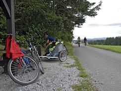 Cyklistické zastavení u Černé