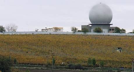 Radar NATO nedaleko místa bitvy tří císařů u Slavkova u Brna