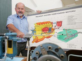 Učitel autoškoly Pavel Fanta