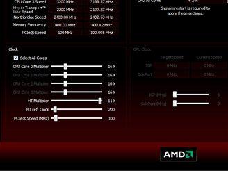 Taktování s AMD 790GX