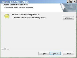 Avatar - instalace software