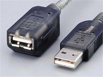 Standrdní kabely USB