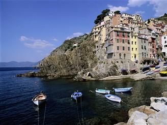 Itálie, Ligurské pobřeží, Riomaggiore