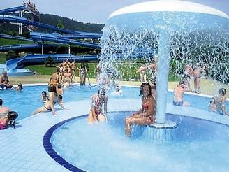 Akvapark v Klášterci nad Ohří