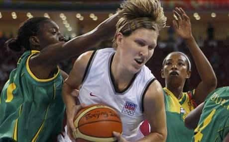 Basketbal, Česko - Mali: Jana Veselá