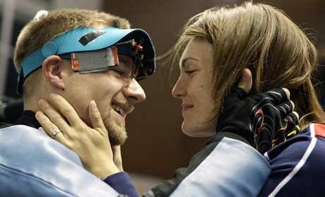 Matthew Emmons a Kateřina Emmons