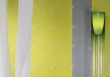Mozaika se již běžně používá do obytného interiéru