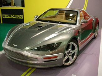 Autosalon Moskva 2008 - Aston Martin twenty-twenty od Giugiara