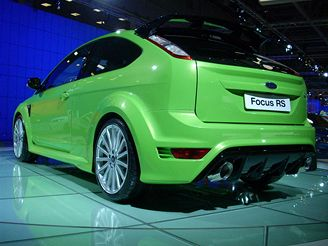 Autosalon Moskva 2008 - Ford Focus RS