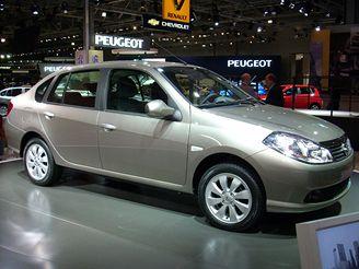 Autosalon Moskva 2008 - Renault Thalia - Symbol