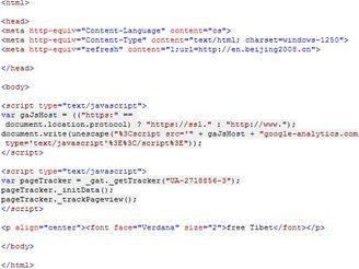 http://www.being2008.com - zdrojový kód