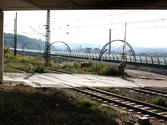Nové spojení - koleje k Vítkovské výhybně u Krejcárku
