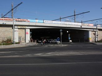 Nové spojení - most u Hlavního nádr.