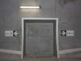 Nov� spojen� - bezpe�nostn� prvky tunelu