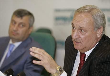 Vůdce Abcházie Sergej Bagapš