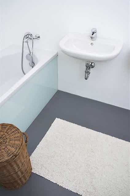 Koupelna evokuje pocit čistoty