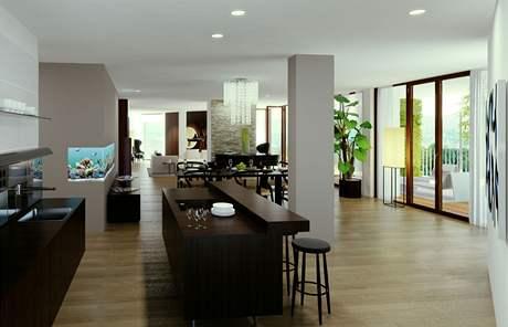Penthouse zpravidla zaujímá celé podlaží a nabízí úžasný výhled do okolí