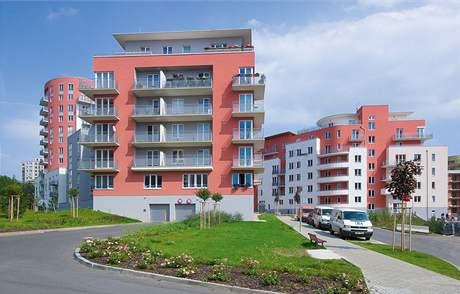 V Zahradním městě vsadil developer na terasy a rozmanitost typů domů