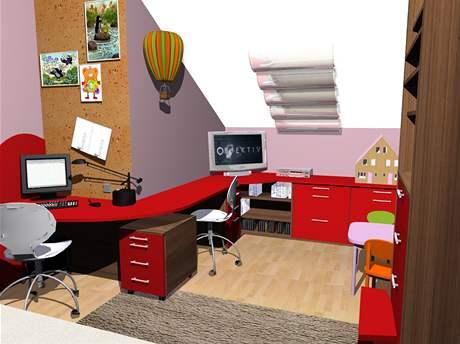 Čtyři varianty dětského pokoje