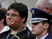 Marc-David Jung, který přežil tragédii na letecké přehlídce 28. srpna 1988 v německém Ramsteinu