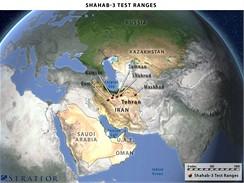 Rozmístění raket Shahab 3