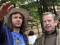 Trutnov 2008 - Martin Věchet a Václav Havel