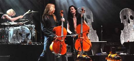 Apocalyptica zahrála na festivalu ve Strážnici