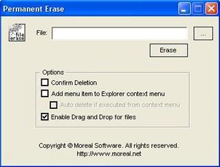 Permanent Erase