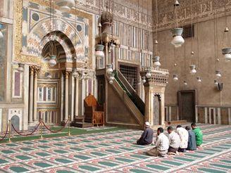 mešita v Káhiře, Egypt
