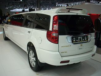 Autosalon Moskva - Great Wall Hover II