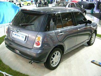 Autosalon Moskva - Lifan 320