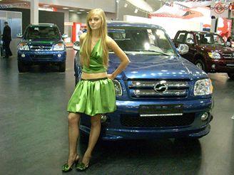 Autosalon Moskva - stánek automobilky ZX
