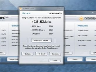 Skóre GeForce 9400GT od Sparkle